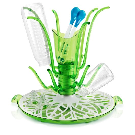 Munchkin Sprout Drying Rack, flower drying rack, bottle drying rack, best bottle drying rack, baby bottle drying rack, plastic bottle drying rack, munchkin drying rack