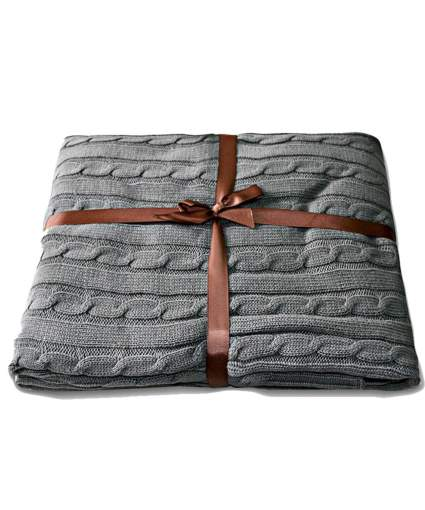throw blankets, cable knit throw blanket