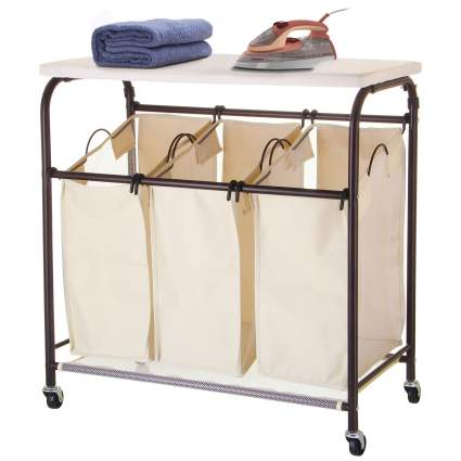 laundry hampers, laundry hamper ironing board, clothes basket