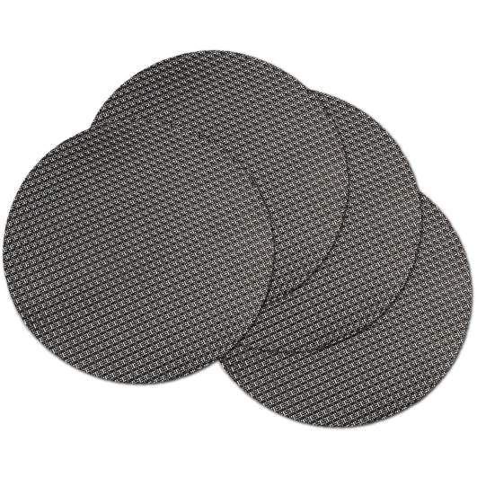 round placemats, heat insulated placemats