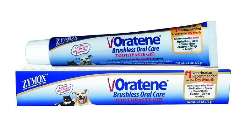 Image of pet king zymox dog toothpaste
