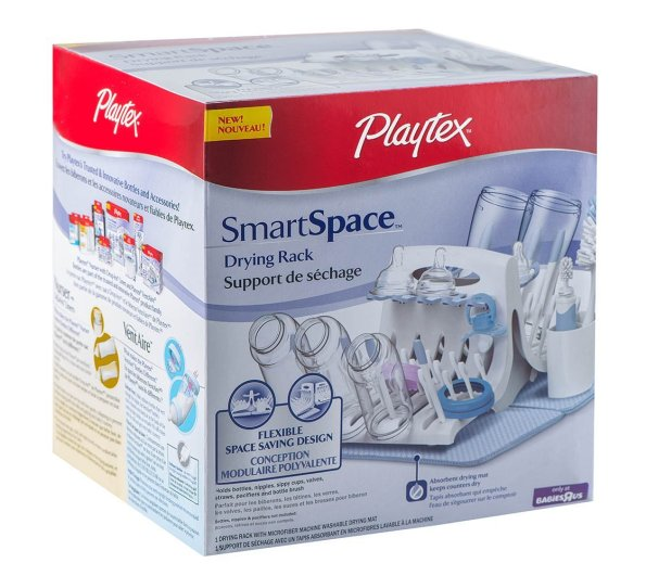 Playtex SmartSpace Drying Rack, playtex bottle drying rack, bottle drying rack, best bottle drying rack, baby bottle drying rack, plastic bottle drying rack, affordable bottle drying rack