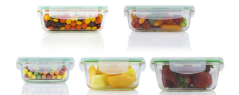 glass storage containers, glass food storage containers
