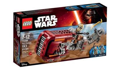 rey's speeder bike lego