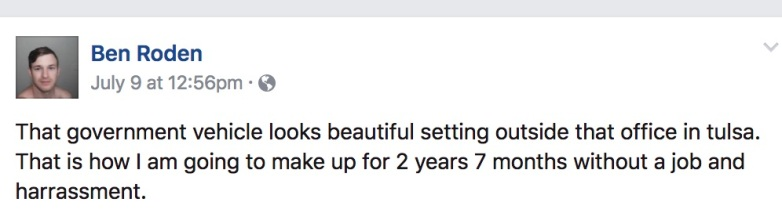 ben roden facebook, benjamin roden facebook