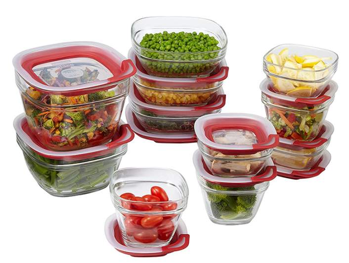 glass containers, glass food storage containers