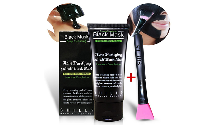 black face mask, black peel off mask, charcoal peel off mask, blackhead mask, blackhead removal mask, peel off mask, best face mask