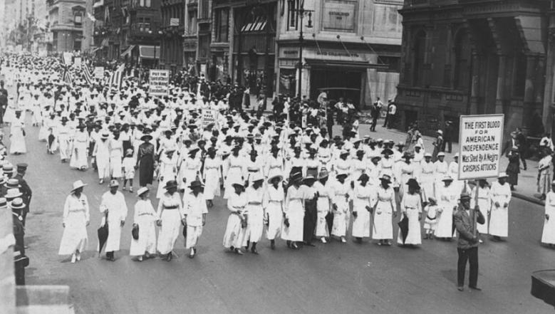 silent parade, the silent parade, silent parade 1917