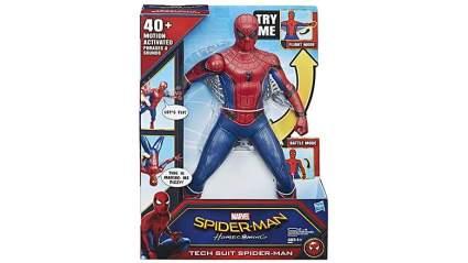 tech suit spider-man figure