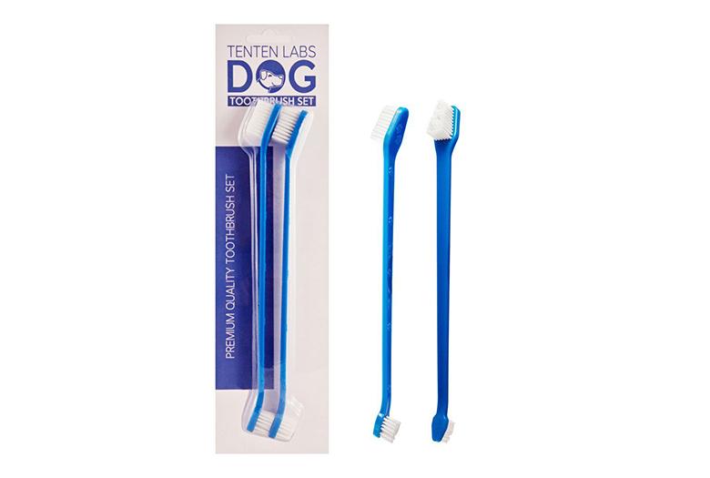 Image of tenten labs dog toothbrush set