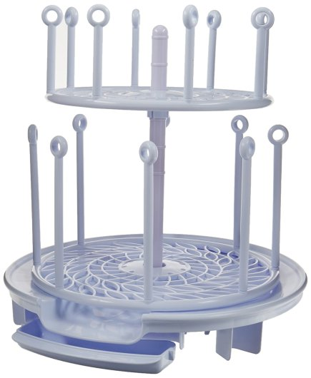 the first years spin stack drying rack, bottle drying rack, best bottle drying rack, baby bottle drying rack, affordable drying rack, spinning bottle drying rack