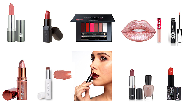 vegan lipstick, vegan makeup, vegan cosmetics, vegan makeup brands, vegan beauty products