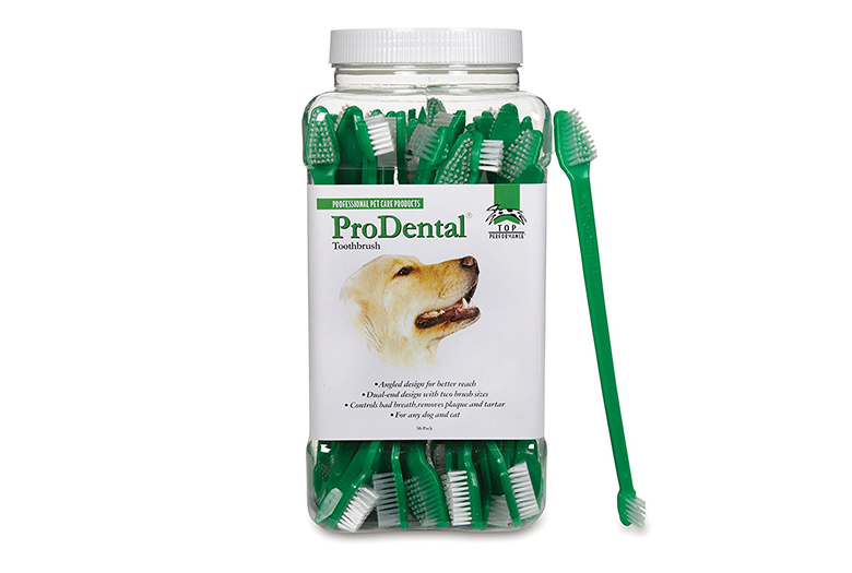 Image of top performance prodental dual-end toothbrushes