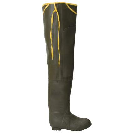 lacrosse, hip waders, waders, fishing, rubber boot