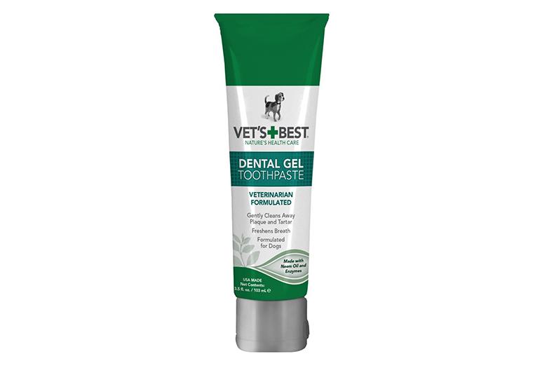 Image of vet's best gel dog toothpaste