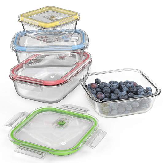 food storage container, glass food storage container
