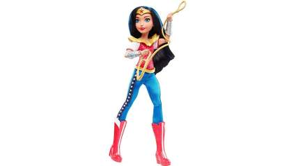 wonder woman dc super hero girls doll