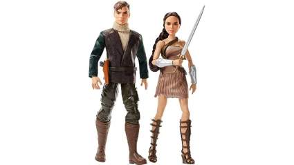 wonder woman steve trevor 2 pack