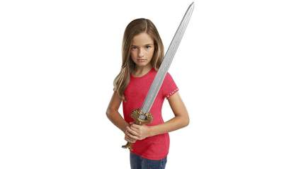 wonder woman replica sword