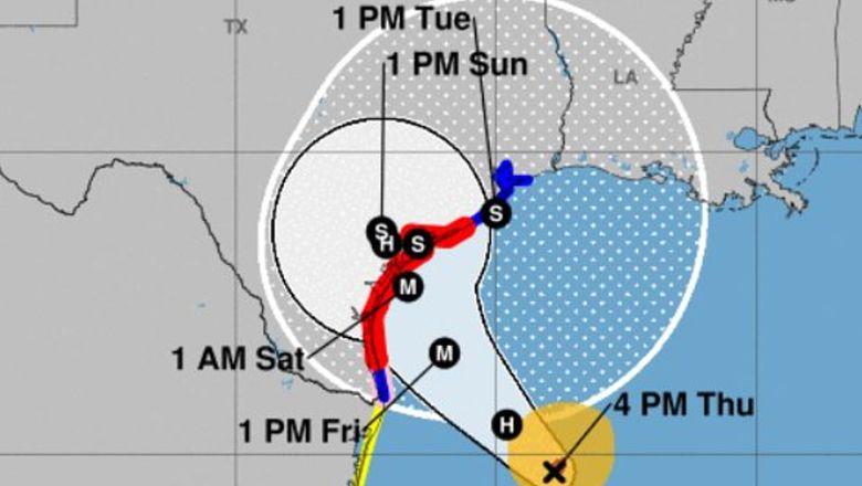 Hurricane Harvey Waco Texas