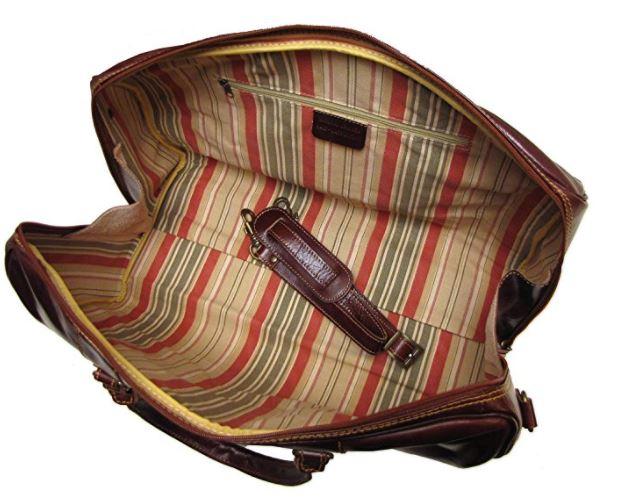 cenzo vecchio italian leather, best mens weekend bag, best mens weekend luggage, best bag mens weekender