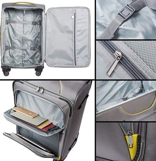 Coolife set lightweight spinner, best lightweight luggage options, best lightweight air luggage, light luggage air travel