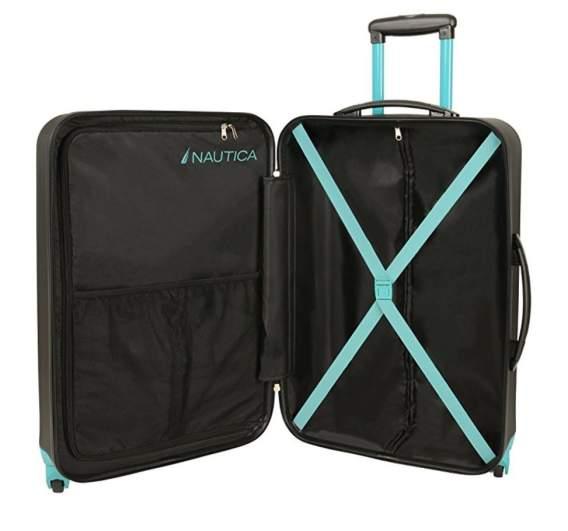 Nautica best luggage set, best luggage set cheap, best affordable luggate set, cheap affordable luggage set