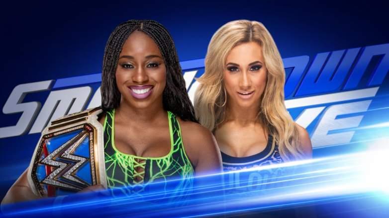 Carmella Naomi, Carmella Naomi smackdown live, Carmella Naomi smackdown