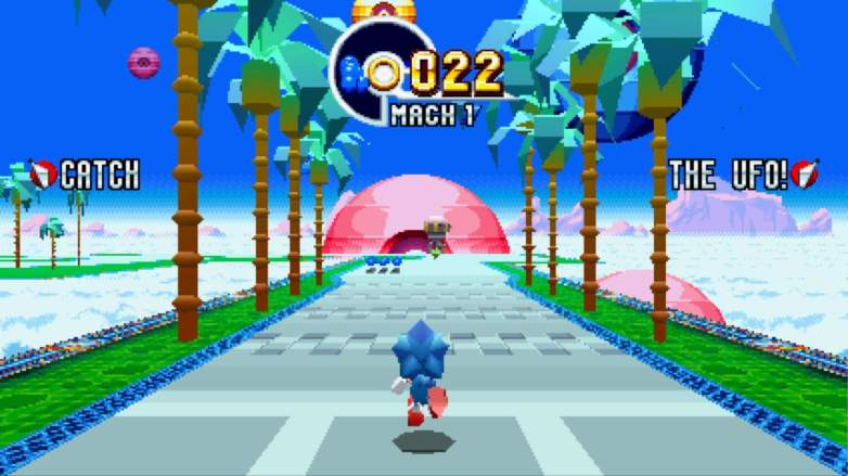sonic mania special stages, sonic mania special stage, sonic mania