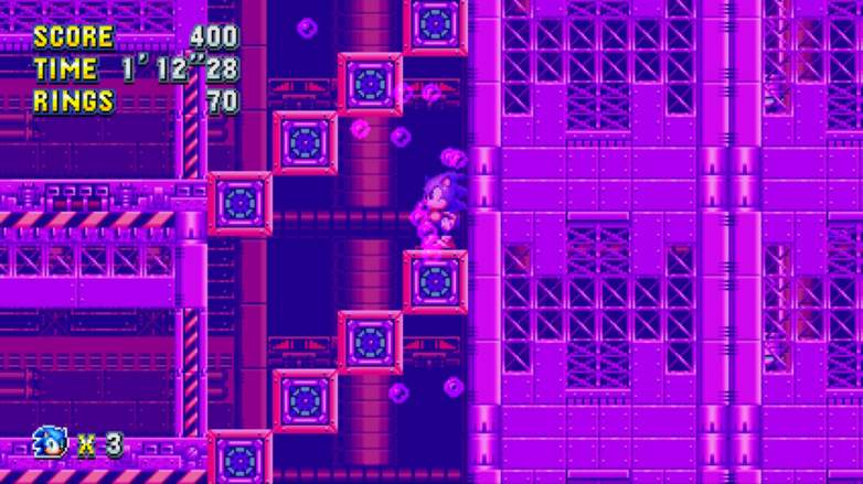 sonic mania chemical plant zone, sonic mania, sonic mania stages