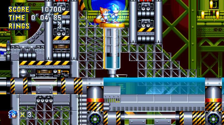 sonic mania chemical plant zone, sonic mania, sonic mania tips