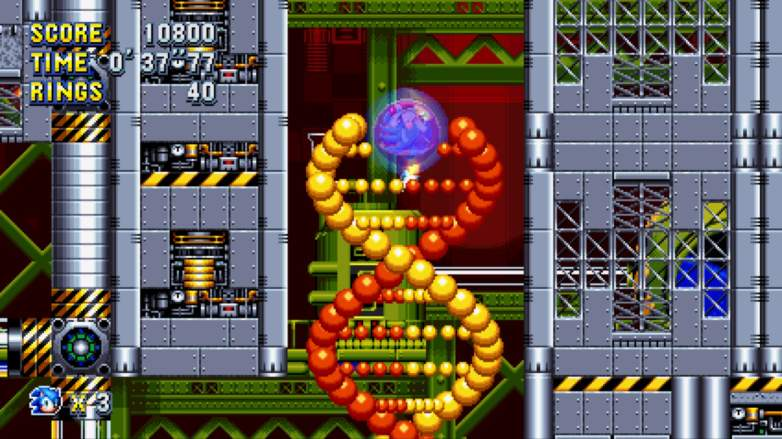 sonic mania special stages, sonic mania tips, sonic mania chemical plant zone