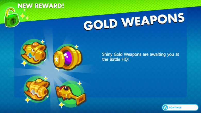 Mario + Rabbids Kingdom Battle Gold Weapons