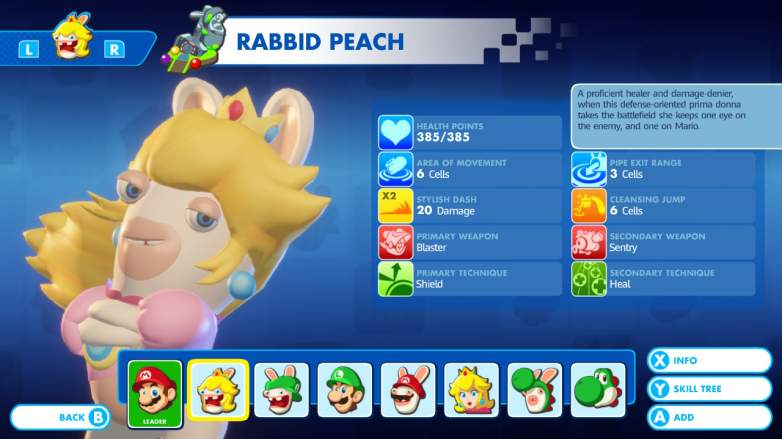 Mario + Rabbids Kingdom Battle, Rabbid Peach