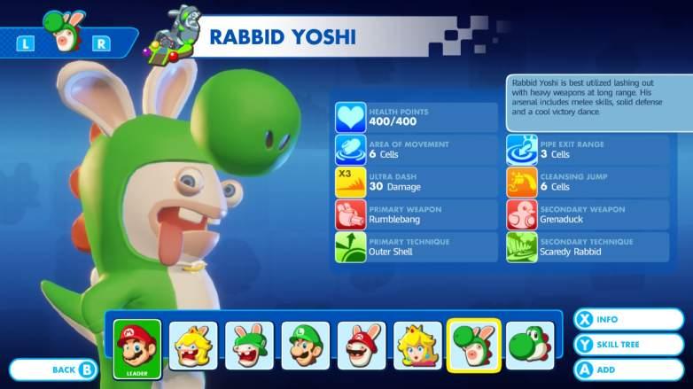 rabbid yoshi