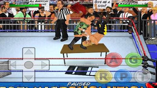 iOS Wrestling Game, Mobile Wrestling Game, Android Wrestling Game,