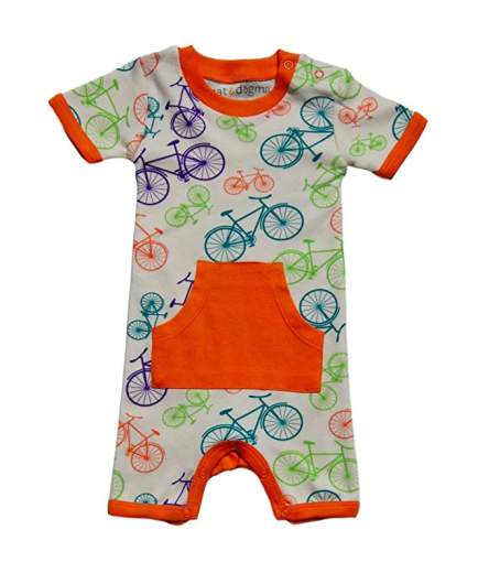 Cat & Dogma - Certified Organic Infant/Baby Clothes - Romper