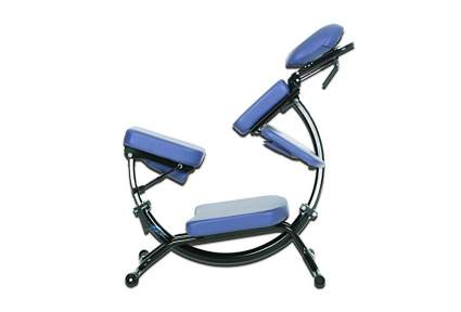 Dolphin II horizontal chair for massage