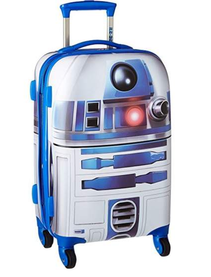 American tourister r2d2 roller, best luggage air travel, best carryon airplane luggage, best luggage for carryon