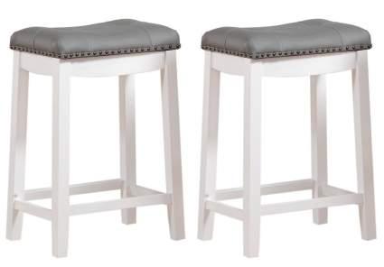 counter height bar stools, saddle stools