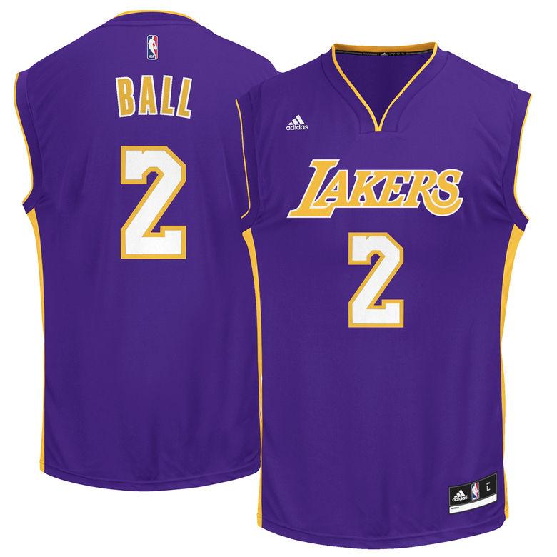 Lonzo Ball L.A. Lakers Jerseys, T-Shirts & Gear 2017   Heavy.com