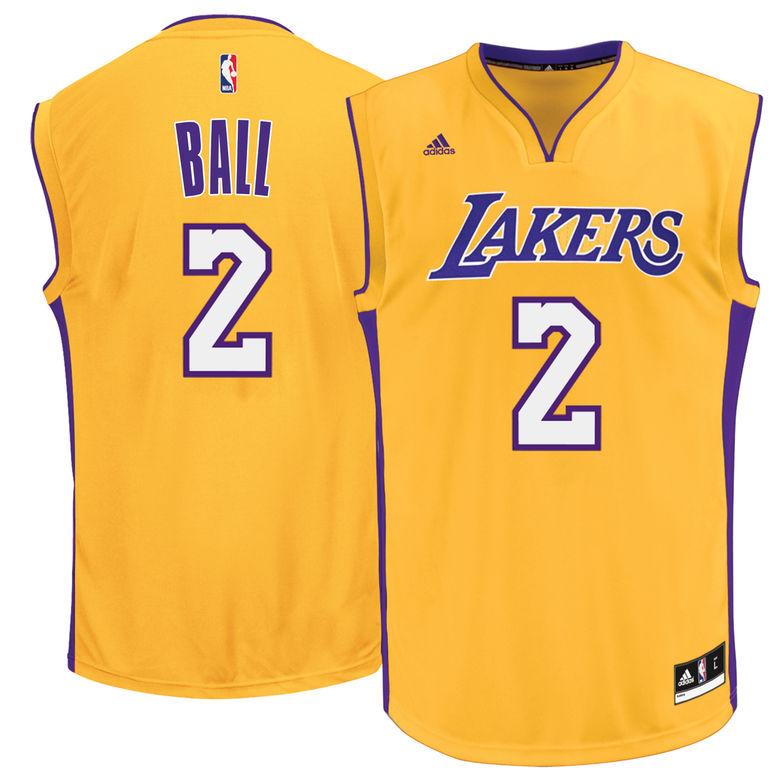 Lonzo Ball L.A. Lakers Jerseys, T-Shirts & Gear 2017 | Heavy.com