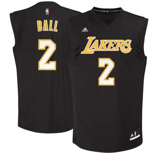 lonzo ball lakers jerseys shirts gear apparel 2017