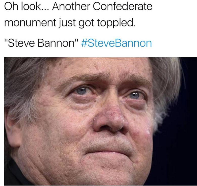 steve bannon fired memes, steve bannon resigns memes, steve bannon herpes memes