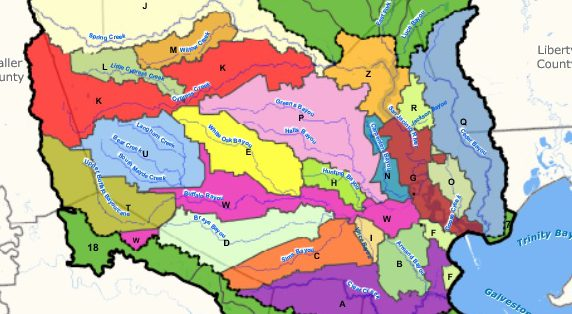 bayou preservation association map