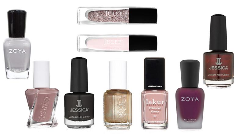 fall wedding colors, fall wedding nails, bridal nails, wedding nails