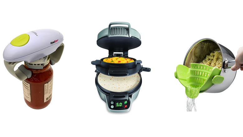 kitchen gadgets, new kitchen gadgets, kitchen utensils, kitchen tools, cool kitchen gadgets, unique kitchen gadgets, best kitchen gadgets, jar openers, best kitchen gadgets to have, best kitchen gadgets amazon, best kitchen gadgets 2017, ice cream scoop, cheese grater, breakfast sandwich maker, sandwich maker, hamilton beach breakfast sandwich maker, can crusher, aluminum can crusher, strainer, kitchen scale, salad spinner, digital food thermometer, measuring cups, measuring spoons
