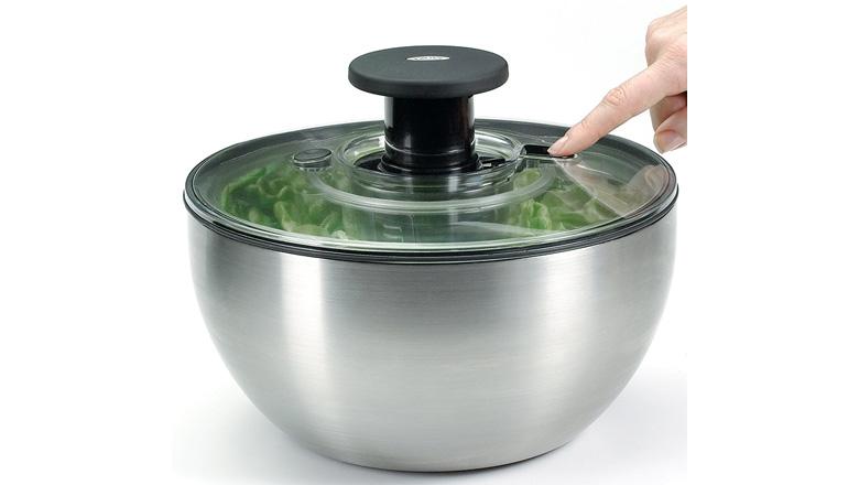 salad spinner, oxo salad spinner, best salad spinner, oxo good grips salad spinner, lettuce spinner, salad dryer, zyliss salad spinner, small salad spinner, large salad spinner, salad washer, collapsible salad spinner, best salad spinner, best salad spinner 2017, best salad spinner reviews, best salad spinners, best salad spinners 2017