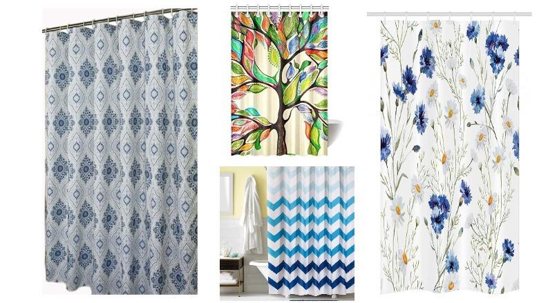 best shower stall curtains