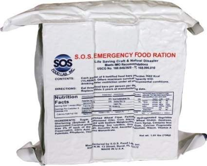 s.o.s. food labs inc., rations, emergency rations, nuclear fallout, disater prep
